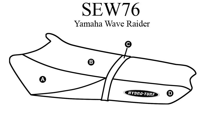 Чехлы на сиденья для гидроциклов Yamaha WaveRaider